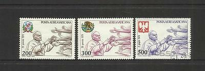 Vatican City ~ 1980 Air Mail Pope John Paul Ii ~ Journeys (Mint Mh) Part Set