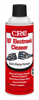 CRC 5103 Quick Dry Electronic Cleaner - Electrical Contact Cleaner Spray - 11 Oz