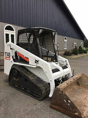 Bobcat T140 Skid Steer Loader Track Machine W/bucket WE SHIP!