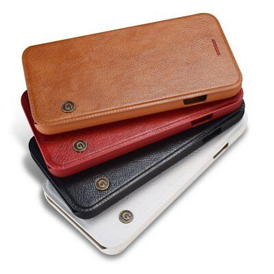 Luxury Flip Leather Wallet Case Back Cover Shockproof For Phone Xs Max SE/7/8/6s