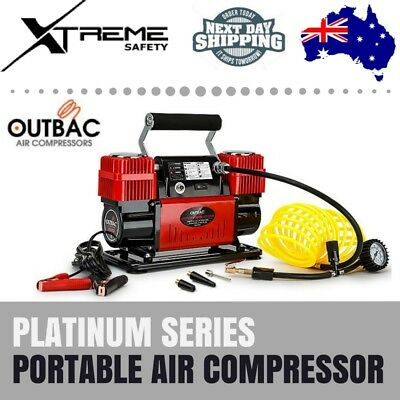 OUTBAC 12V Car Portable Air Compressor 4x4 300L/min Tyre Deflator 4wd Inflator