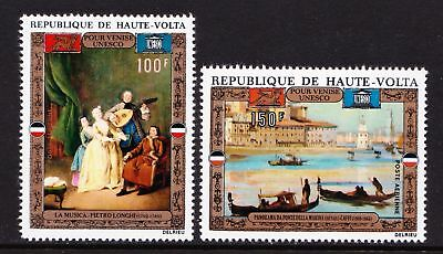 "Upper Volta 1972 Airmail - UNESCO Campaign ""Save Venice"" MNH set - (144)"
