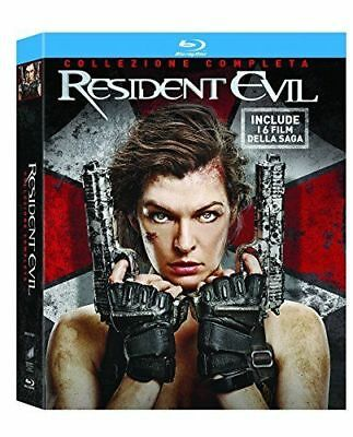 Resident Evil Collection Cofanetto 6 Film In Dvd (Blu Ray )