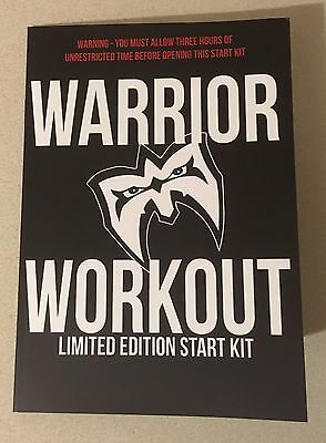 Ultimate Warrior Official Workout Start Kit WWE WWF New