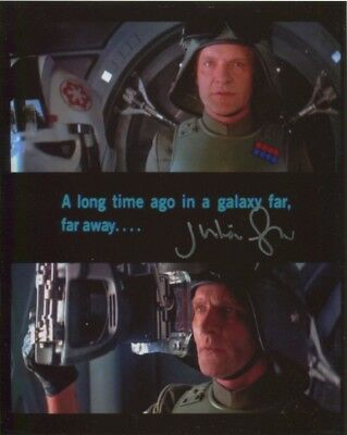 Julian Glover In Person Signed Photo - Star Wars - AG502