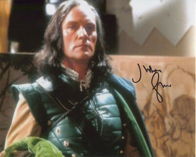 Julian Glover In Person Signed Photo - Doctor Who - AG504