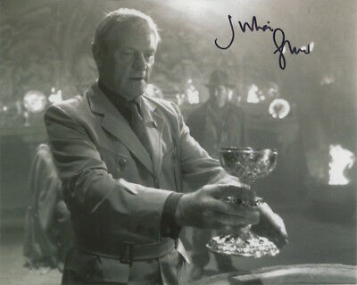 Julian Glover In Person Signed Photo - Indiana Jones - AG506