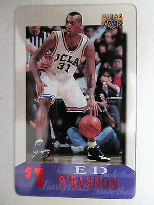 1$ Telefonkarte Phone-Card USA Basketball League Spieler Player ED O`BANNON