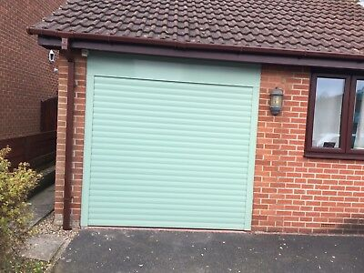 Elite Electric Roller Door In Chartwell Green Nationwide Fitting Available