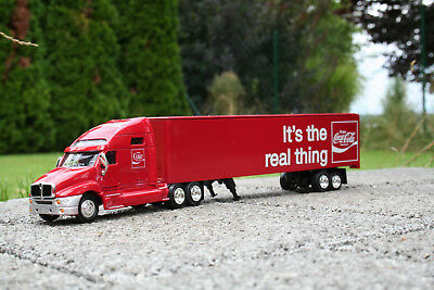 """1:64 Coca Cola 436600 Sattelschlepper """"It's the real Thing""""  Neu & OVP"""