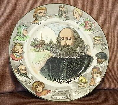 """Royal Doulton 10.5"""" Shakespeare collector plate"""
