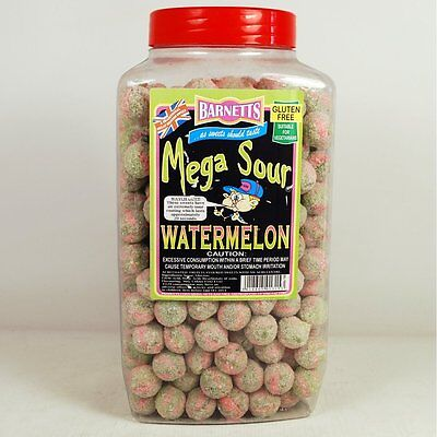 Barnetts Watermelon Mega Sours, British Sweets, Uk Sweets, Really Sour!!!