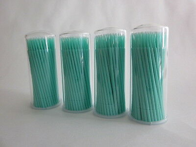 400 Microbrush Applicators Micro Applicators Microapplicators Size Fine 100/Tube