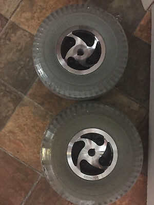 tires and wheels for mobility scooter, set of two