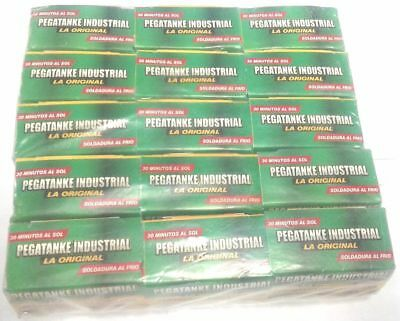 15 X Pegatanke Black Marine Epoxy Glue / Super Strong / Dries Underwater 50 Cc.!