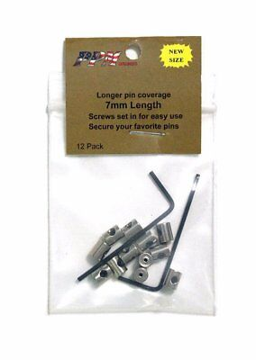 12-Pieces-Pin-Keepers-Pin-backs-Pin-Locks-Locking-Pin-Backs-w-Allen-Wrench 7mm