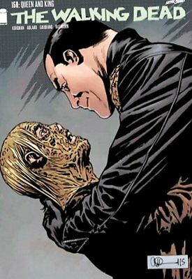 THE WALKING DEAD ISSUE 156 - SOLD OUT FIRST 1st PRINT - IMAGE COMICS!