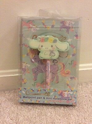 Cinnamoroll Ballpoint Pen + A5 Notebook Gift Box Set. Sanrio. Valentines Gift