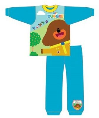 Hey Duggee pyjamas CBeebies blue boys toddler age 18 months to 5 years pjs BNWT