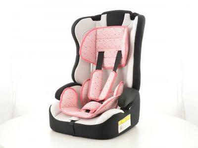 Child Car Seat baby toddler black/white Group I-III 9-36kg EC Approved ✔️