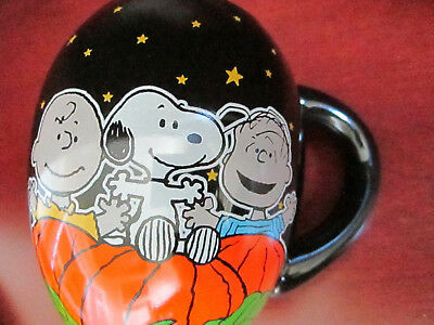 PEANUTS CHARLIE BROWN Coffee Cup Mug ~ HALLOWEEN IT'S THE GREAT PUMPKIN ~ 2013