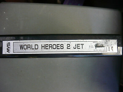 World heroes 2 jet Neo geo mvs cart.
