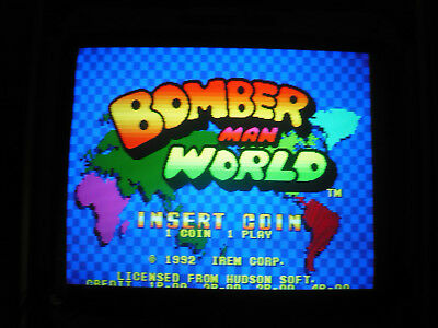 Bomber man world  irem   jamma pcb