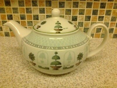 Staffordshire Topiary Design Teapot Holds 2.25 Pints