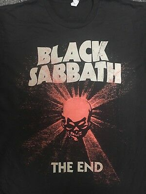 BLACK SABBATH The End 2016 Obey Shepard Fairey Skull