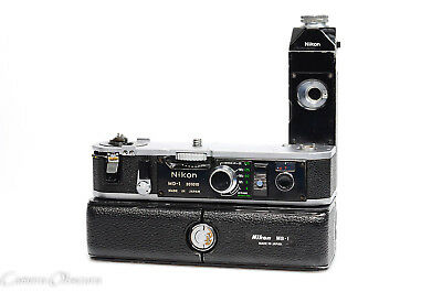 Nikon MD-1 Motor Drive with MB-1 Battery Pack for Nikon F2 Cameras