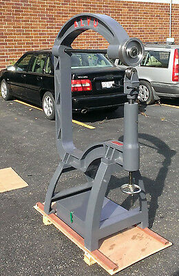 English Wheel Cast Iron Frame w/ 35-inch Throat. Incl Box of Many Extra Tools