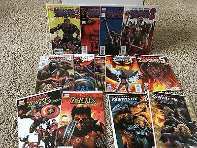 Marvel Zombies 3 and 4 full runs 1 2 3 4 Variant cover + Army of Darkness UFF