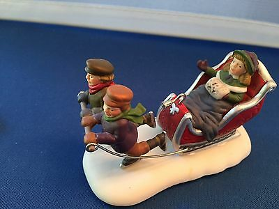 Department 56 HERITAGE VILLAGE ACCESSORY -  SLEIGH RIDE #5825-4
