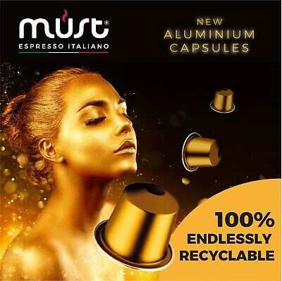 100 Nespresso Compatible Coffee Capsules - Chose ypour blend