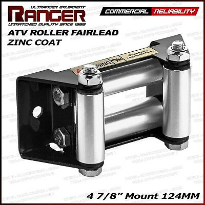 "Ranger ATV Winch Roller Fairlead 4 7/8"" (124MM) Mount For 2000-3500 LBs ATV W..."