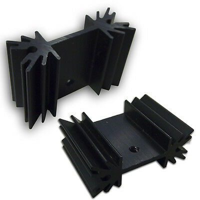 SS116 Aluminum Black Heatsink Heat Sink Audio Amplifier