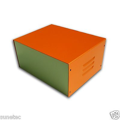 """ST764O 7"""" DIY Hobby Electronic Metal Project Enclosure Box Case"""
