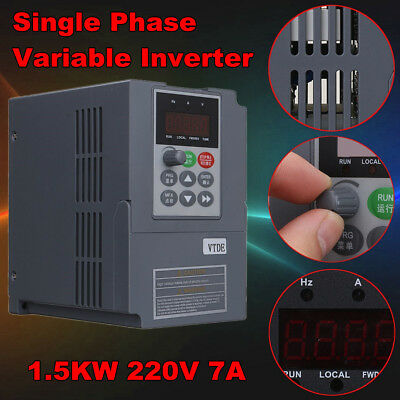 220V 1.5KW 2HP Spindle Motor Speed Control Variable Frequency Drive Inverter VSD