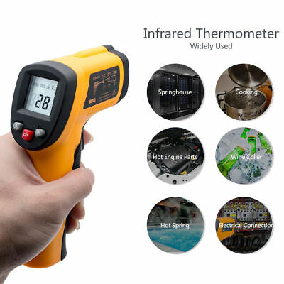Temperature Gun Non-contact Infrared IR Laser Digital Thermometer -58F-626F NP