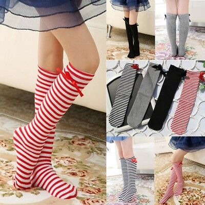 For Age 3-12 Baby Kid Toddlers Girls Knee High Socks Tights Leg Warmer Stockings