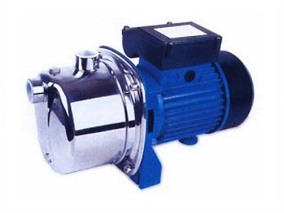 JX80 Stainless Steel Self-Priming Jet Pump for Water, 0.6kW