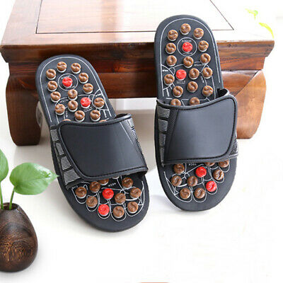 1 Pair Sandal Reflex Massage Slippers Acupuncture Foot Healthy Massager Shoes