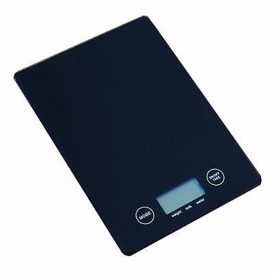 5kg 1g Electronic Digital Glass Kitchen Scale food weight Black