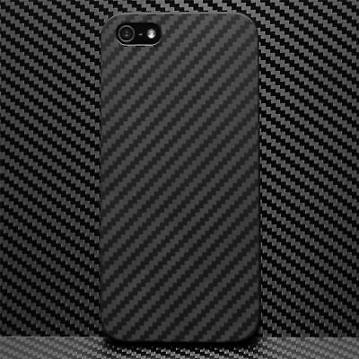Ultra Thin Slim Hard Case Cover Carbon Design Cover For Apple iPhone SE 5S 5