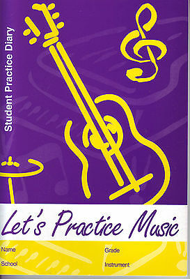 Let's Practice Music - Student Practice Diary - Andrew Ioannou - MM007