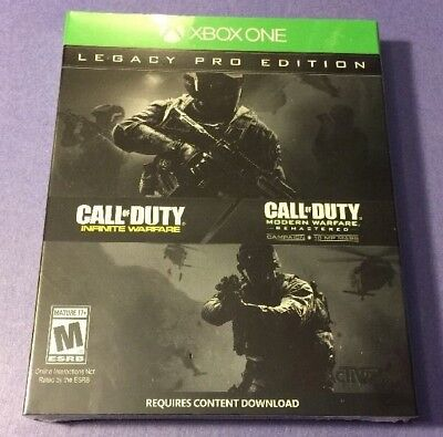 Call of Duty Infinite Warfare [ LEGACY PRO Edition / STEELBOOK ] (XBOX ONE) NEW