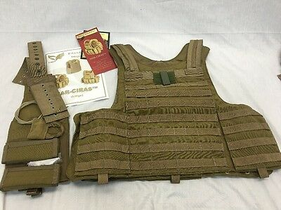 Eagle Industries Maritime CIRAS Vest Coyote Large FSBE MARSOC