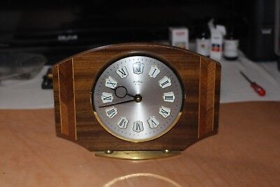 Bentina Made In France wooden 8 Day mechanical clock