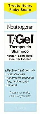Neutrogena T/Gel Therapeutic Shampoo Treatment For Scalp Psoriasis, Itching And