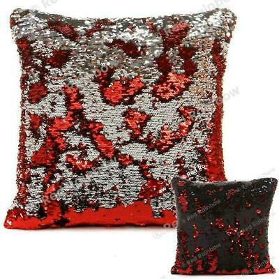 Magic Mermaid Shiny Sequin 17 inch Sparkle Bling Cushion Cover